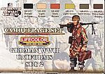 German WWII Uniforms #2 Camouflage Acrylic Set (6 22ml Bottles)