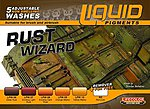 Rust Wizard Weathering Liquid Pigments Set (6 22ml Bottles)