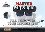 Master Mixer Set to Create Blended Colors (6 empty pots w/labels)