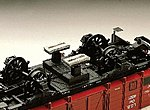 Track cleaning unit - G-Scale