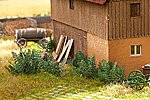Stinging Nettles SceneMaster Botanicals Kit -- Model Railroad Grass Earth -- HO Scale -- #1073