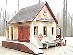 General Store Kit -- Model Train Building -- HO Scale -- #1351