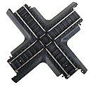 90 Degree Crossing Power-Loc(TM) -- Model Train Track Steel -- HO Scale -- #21715