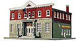 5th Precinct Police Station Kit -- Model Railroad Building -- N Scale -- #7481