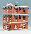 Downtown Hotel Kit -- Model Railroad Building -- N Scale -- #7482