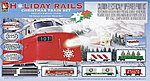 Holiday Rail -- Model Train Set -- HO Scale -- #8198