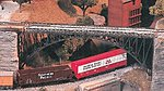 Arch Span Bridge Kit -- Model Railroad Bridge -- HO Scale -- #8207