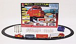Rail Master Train Santa Fe -- Model Train Set -- HO Scale -- #8608