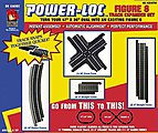 Figure 8 Expander Set Power-Loc(TM) Steel -- Model Train Track -- HO Scale -- #8794