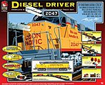 Diesel Driver Union Pacific -- Model Train Set -- HO Scale -- #8852