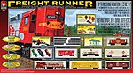 Freight Runner -- Model Train Set -- HO Scale -- #9100