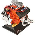 DODGE 426 HEMI SS V8 Motor -- Plastic Model Engine Kit -- 1/4 Scale -- #11057