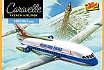 Caravelle French Airliner -- Plastic Model Airplane Kit -- 1/96 Scale -- #513