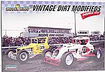 Vintage Dirt Modifieds (2 Kits) Race Car -- Plastic Model Car Kit -- 1/24 Scale -- #603