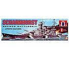 1/762 Scharnhorst German Battleship -- Plastic Model Military Ship -- #70862