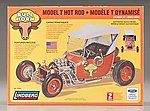 Bull Horn Ford Model T Hot Rod -- Plastic Model Truck Kit -- 1/16 Scale -- #72320