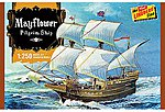 Mayflower -- Plastic Model Sailing Ship Kit -- 1/250 Scale -- #hl215-12