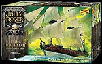 Jolly Roger Series Flying Dutchman -- Plastic Model Sailing Ship Kit -- 1/130 Scale -- #hl218-12