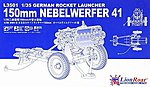 1/35 German Rocket Launcher 150mm Nebelwerfer 41 (Plastic Kit)