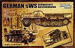 1/35 German sWS Gepanzerte Ausfuehrung Halftrack (Plastic Kit)