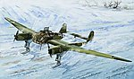 1/48 WWII German Fw189A1 Aircraft w/Skis (Plastic Kit)
