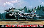 1/48 MiG29 Early Type 9-12 Fulcrum Fighter (Plastic Kit)