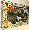 Wild World Animals (6 different animals) -- Plastic Model Animals -- 1/32 Scale -- #94597