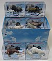 Artic Wild Animals Display 2 each 6 different -- Plastic Model Animals -- 1/32 Scale -- #95322