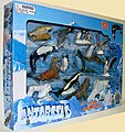 1/32 Antarctic Wild Animals (12 diff/window-box)
