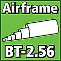 Airframe Tubing 2.56 inch -- Model Rocket Body Tube -- #bt256