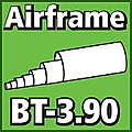 Airframe Tubing 3.90 inch -- Model Rocket Body Tube -- #bt390