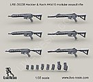 1/35 Heckler & Koch HK416 Modular Assault Rifle (6)