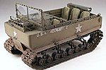 WWII US M29 Weasel Tracked Vehicle (Resin) -- Plastic Model Personnel Carrier Kit -- 1/35 -- #35501