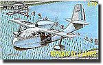 Republic RC3 Seabee Aircraft w/Floats -- Plastic Model Airplane Kit -- 1/72 Scale -- #27