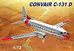 Convair C131D USAF Aircraft -- Plastic Model Airplane Kit -- 1/72 Scale -- #51