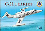 C21 Learjet USAF Aircraft -- Plastic Model Airplane Kit -- 1/72 Scale -- #57