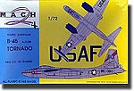 Tornado B45 A/C/RB Aircraft -- Plastic Model Airplane Kit -- 1/72 Scale -- #8