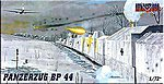 Panzerzug BP44 Military Railway Convoy -- Plastic Model Locomotive Kit -- 1/72 Scale -- #ar2