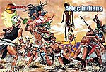 Aztec Warriors (30) -- Plastic Model Cowboy and Indian -- 1/72 Scale -- #72018