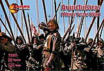 Thirty Years War Arquebusiers (48) -- Plastic Model Military Figure -- 1/72 Scale -- #72027