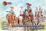 Imperial Arquebusiers (12 Mounted) -- Plastic Model Military Figure -- 1/72 Scale -- #72037