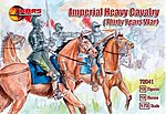 Thirty Years War Imperial Heavy Cavalry (12 Mtd) -- Plastic Model Military Figure -- 1/72 -- #72041