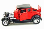 1929 Ford Model A (Red) -- Diecast Model Car -- 1/24 Scale -- #31201red