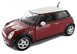 Mini Cooper (Red) -- Diecast Model Car -- 1/24 Scale -- #31219red