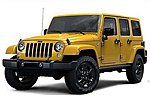 1/24 2015 Jeep Wrangler Unlimited (Yellow)