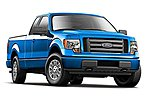 2010 Ford F150 Pickup Truck (Metallic Blue) -- Diecast Model Truck -- 1/24 Scale -- #31270blu
