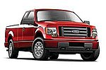2010 Ford F150 Pickup Truck (Red) -- Diecast Model Truck -- 1/27 Scale -- #31270red