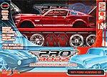 Custom Shop AL 1967 Mustang GT Metal -- Metal Body Plastic Model Car Kit -- 1/24 Scale -- #39094