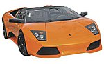 AL Lamborghini Murcielgo LP 640 Metal -- Metal Body Plastic Model Car Kit -- 1/24 Scale -- #39292