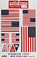 Pressure Decal US Flags